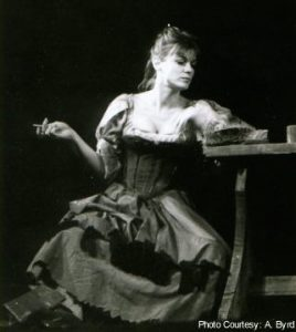 Anne Gee as Yvette in Mother Courage