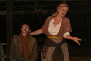Nathan and Anne Gee in Mother Courage