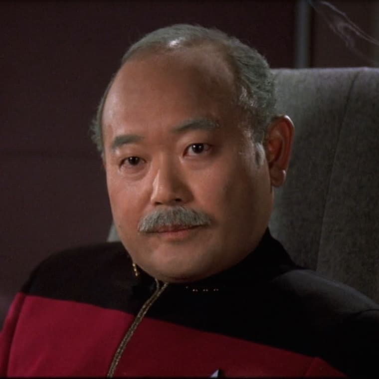 Clyde Kusatsu in Star Trek